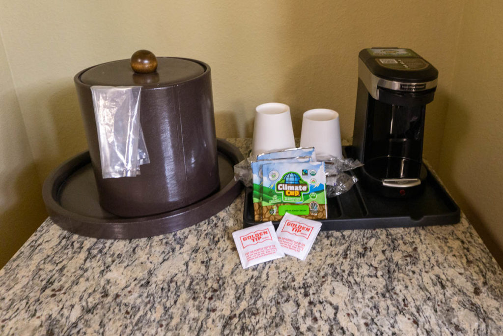 Abercorn Inn Room Coffee Maker