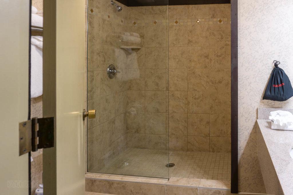 Abercorn Inn Room Shower