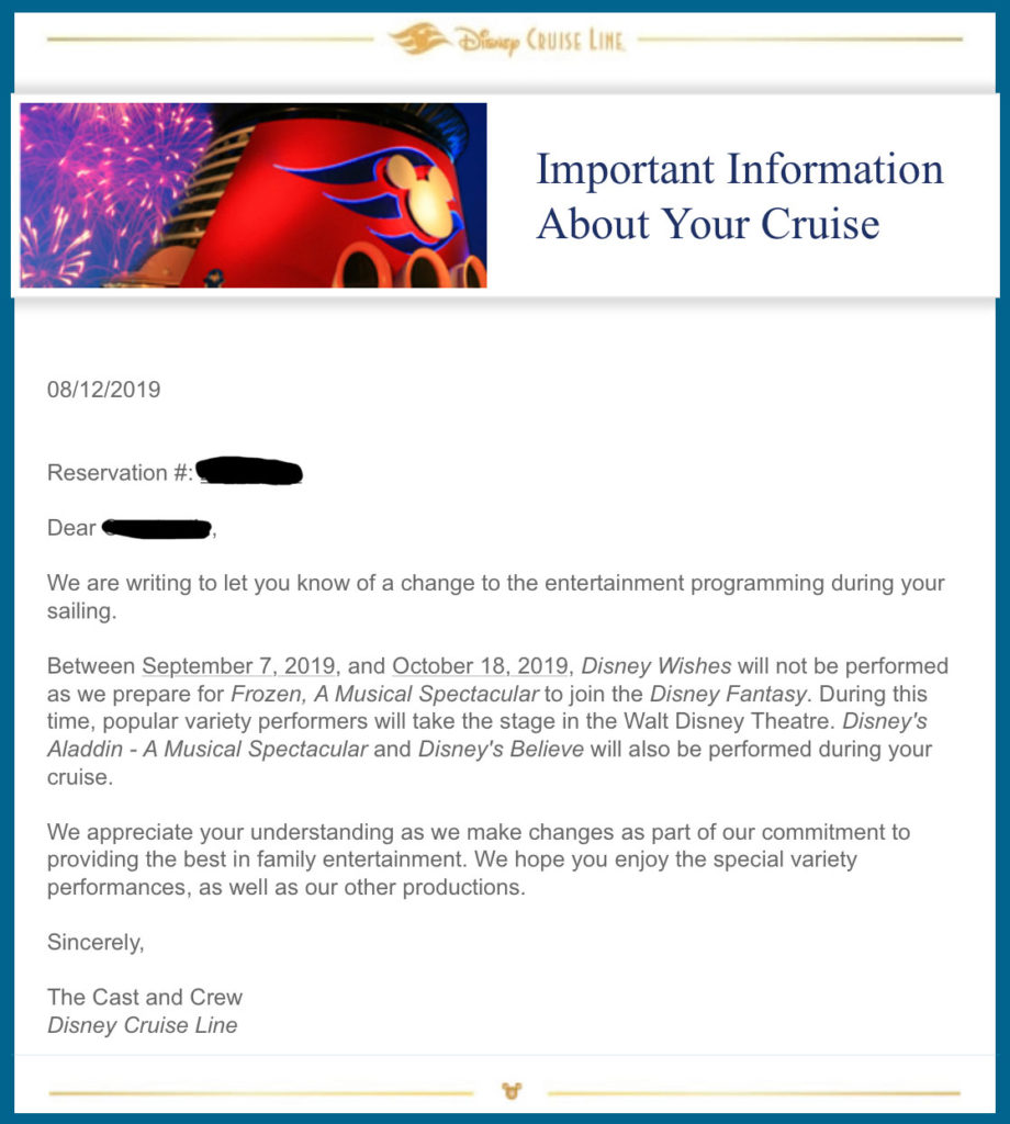 Fantasy Disney Wishes Closing Email Guest 20190907