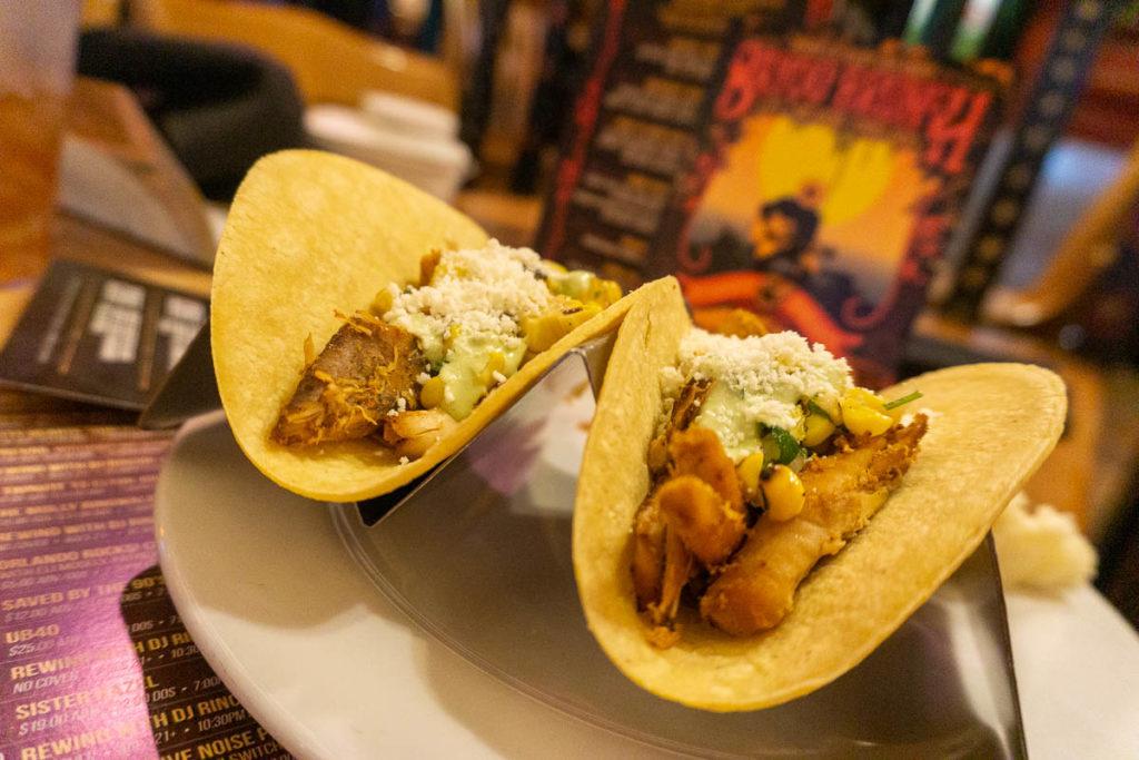 HOB Orlando Bayou Brunch Tacos
