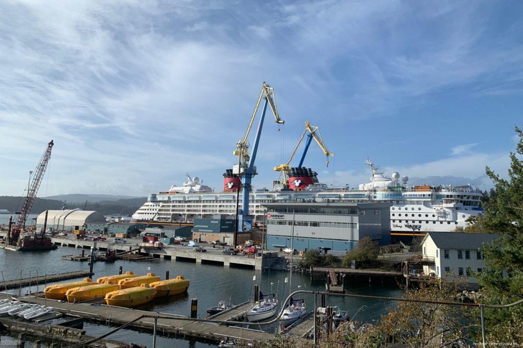 Disney Wonder 2019 Dry Dock Victoria 5