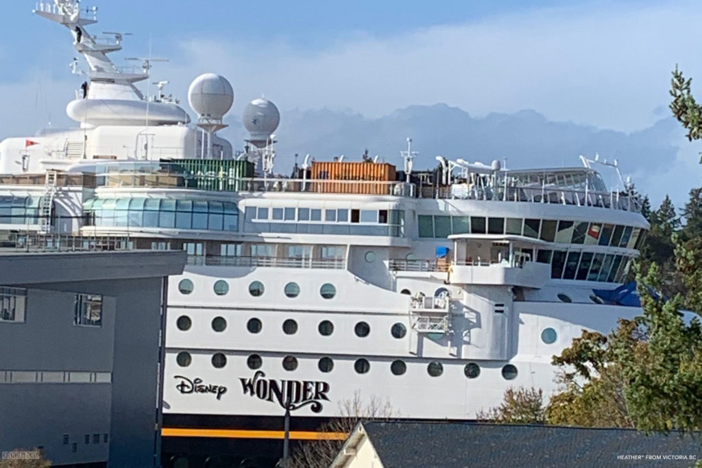 Disney Wonder 2019 Dry Dock Victoria 6