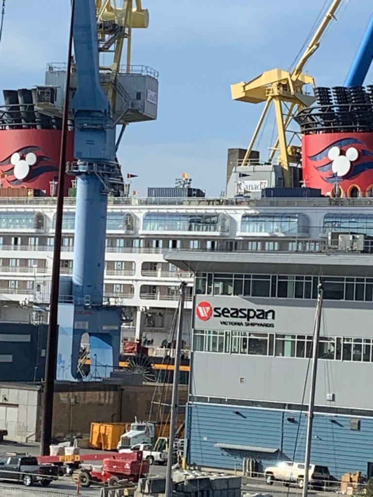 Disney Wonder 2019 Dry Dock Victoria 7