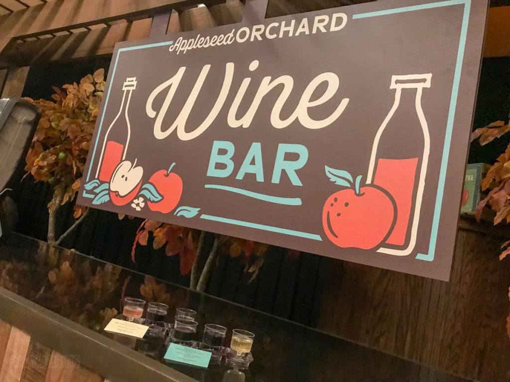 EPCOT Food Wine 2019 Appleseed Orchard