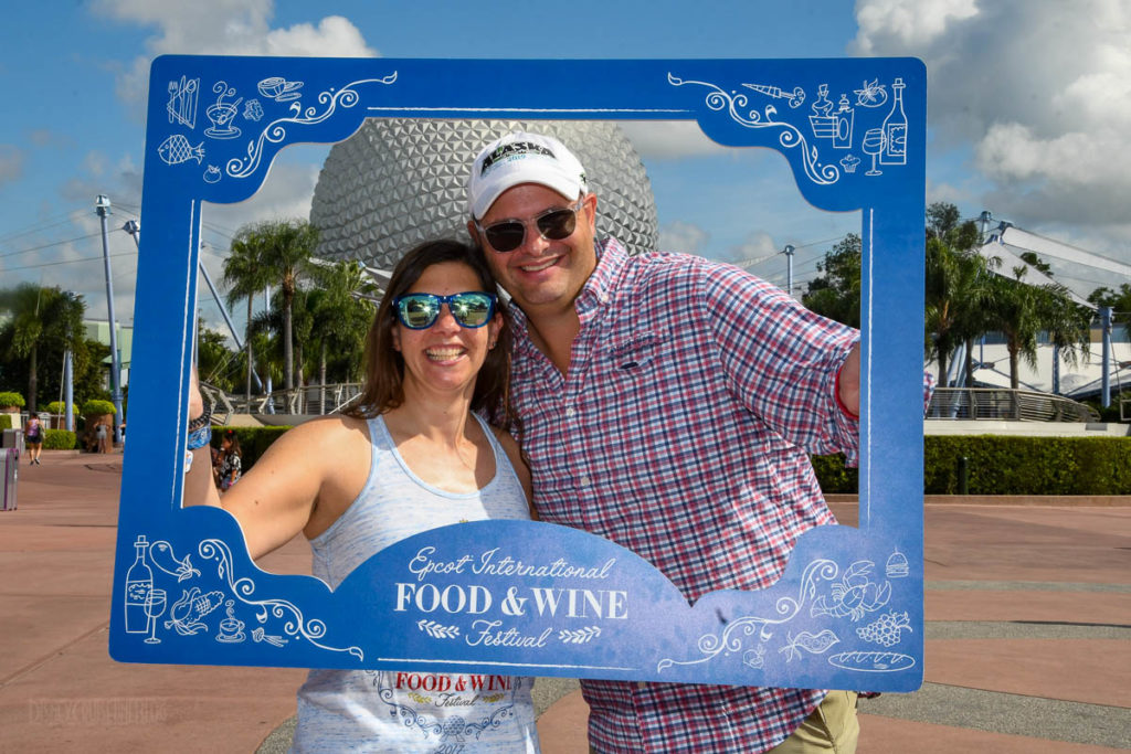 EPCOT Food Wine 2019 Photopass Frame