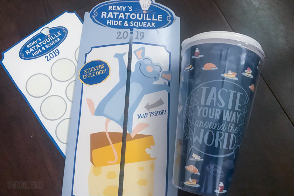 EPCOT Food Wine 2019 Remy's Hide Squeak Tumbler