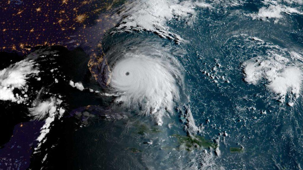 Hurricane Dorian GOES16 20190902
