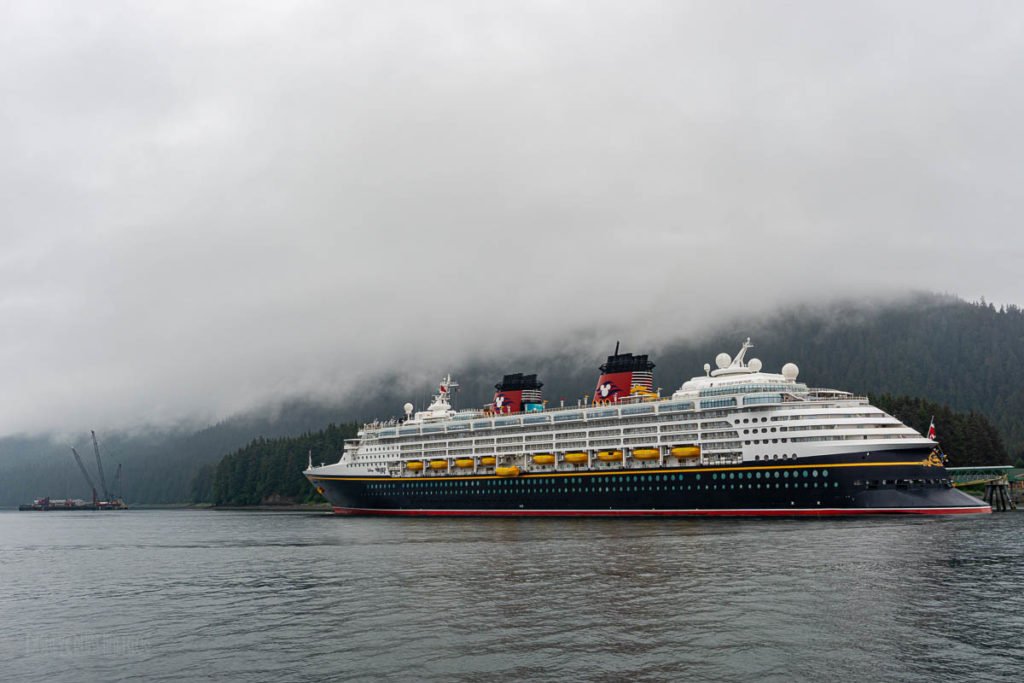 Icy Strait Point Disney Wonder
