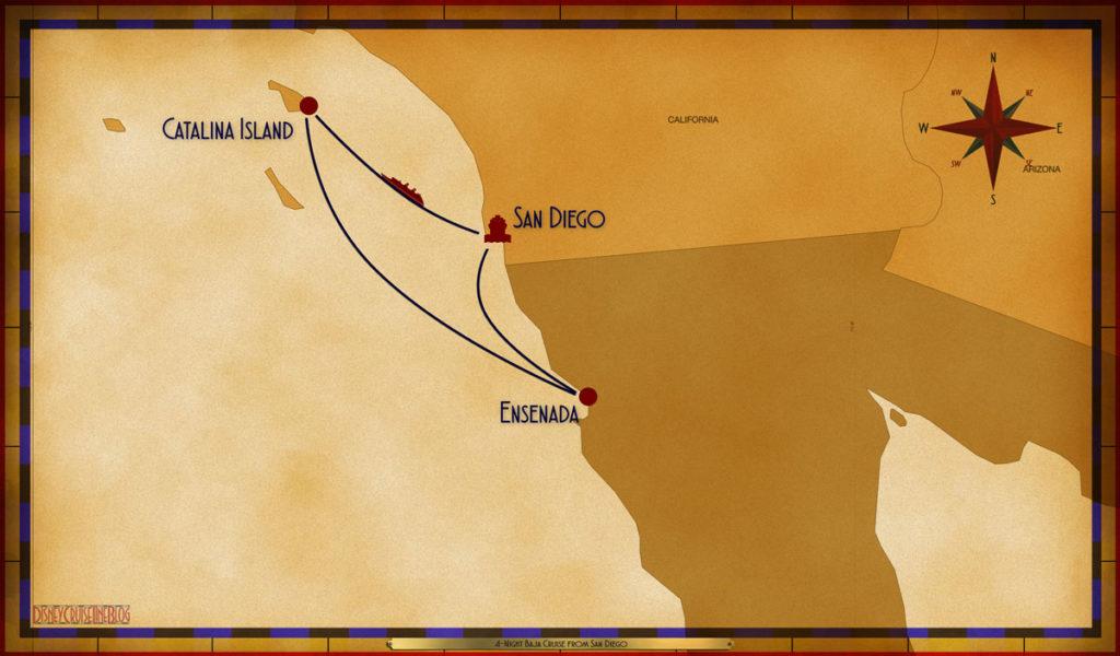 Map Wonder 4 Night Baja SAN SEA AOU ESE