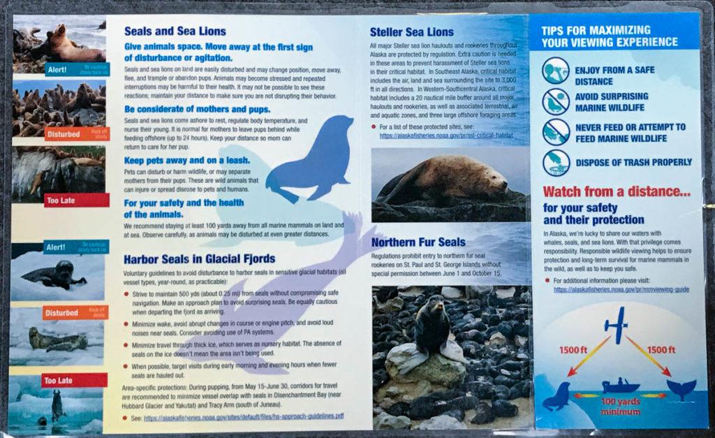 NOAA Fisheries Marine Mammal Viewing Guidelands Alaska 2