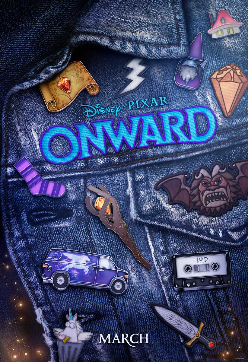 Onward Teaser Movie Poster