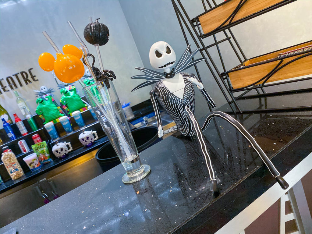 Buena Vista Theatre Halloween Souvinir Mugs Popcorn Buckets Stra