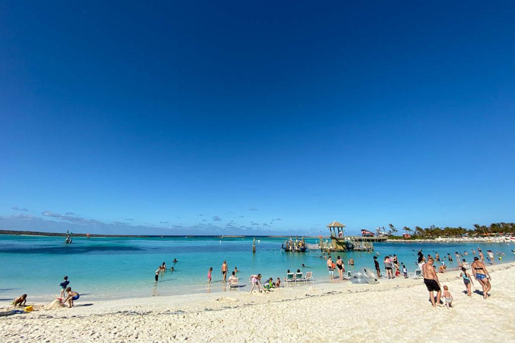 Castaway Cay Family Beach