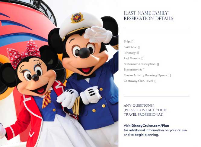 DCL Welcome Aboard Booklet 3