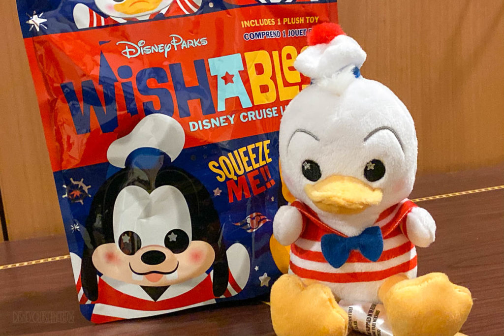 DCL Wishables Donald Duck