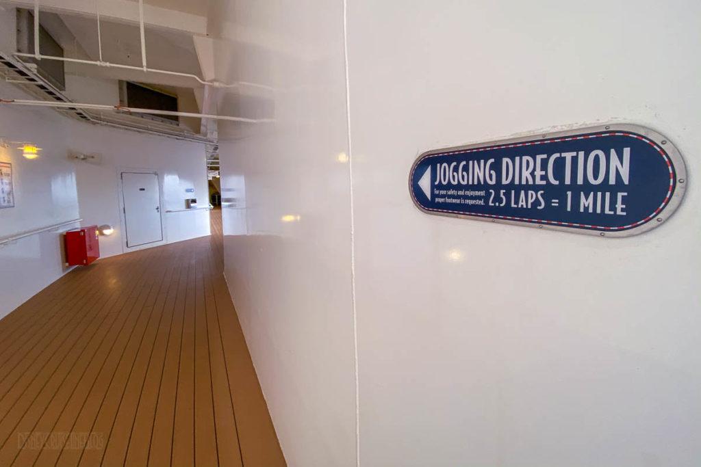 Disney Dream Deck 4 Running Track