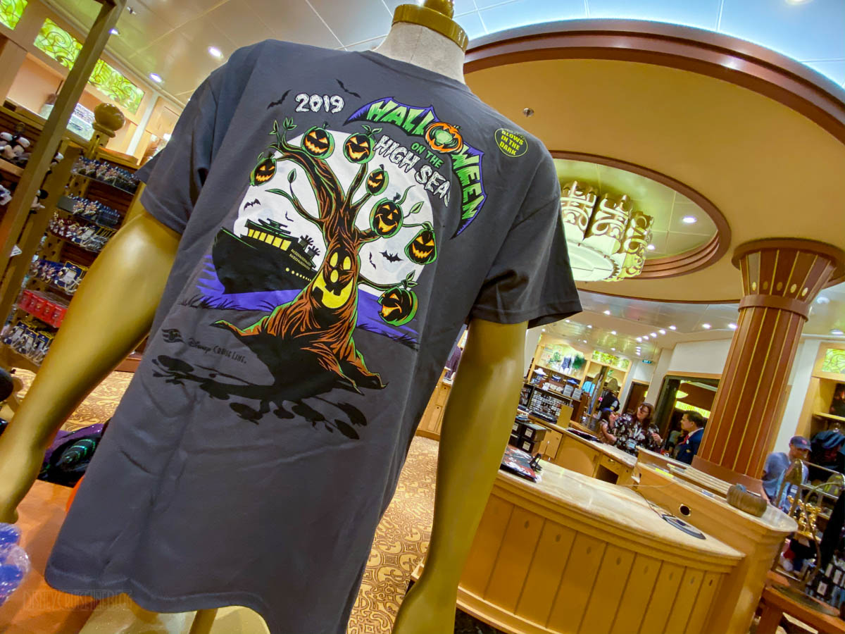 Disney Dream Merchandise Halloween On The High Seas Shirt