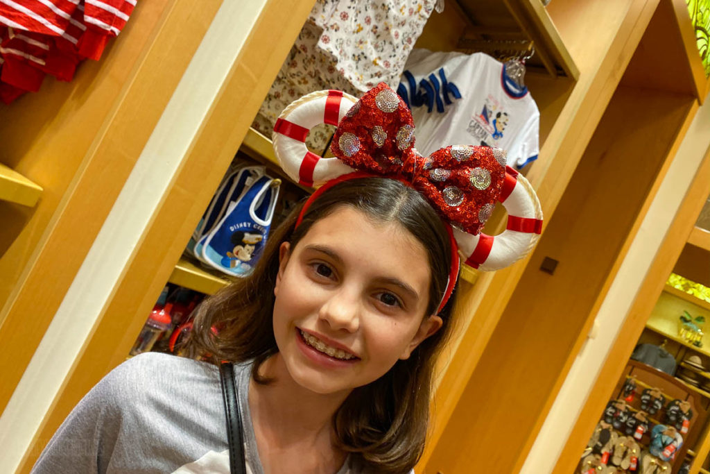 Disney Dream Merchandise Minnie Ear Headband Life Ring