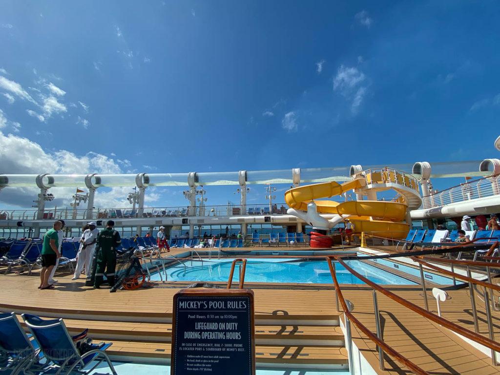Disney Dream Mickey Pool CLOSED