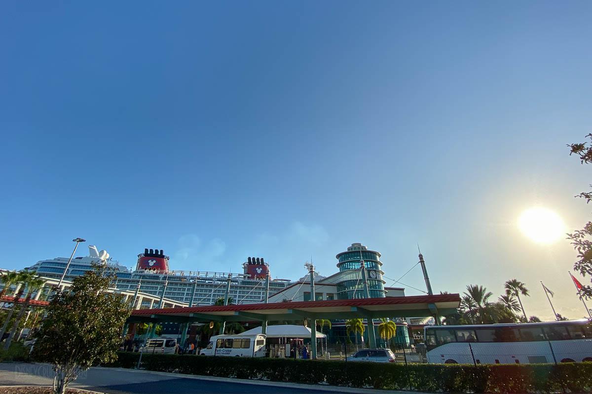 Disney Dream Port Canaveral Cruise Terminal 8 20191014
