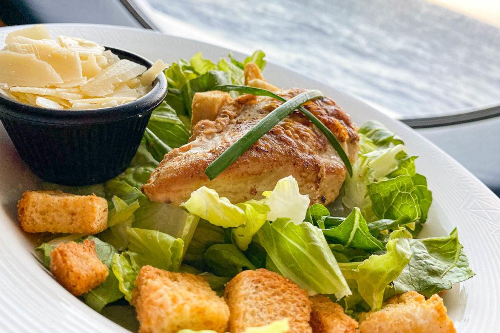 Disney Dream Room Service Ceasar Salad