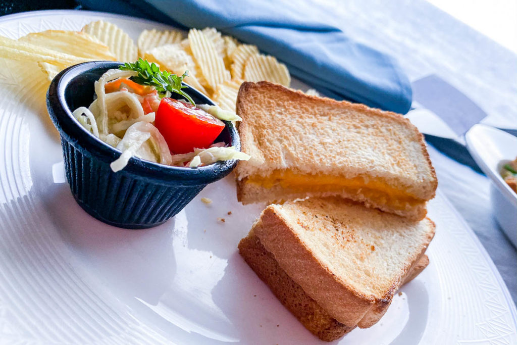 Disney Dream Room Service Grilled Cheese