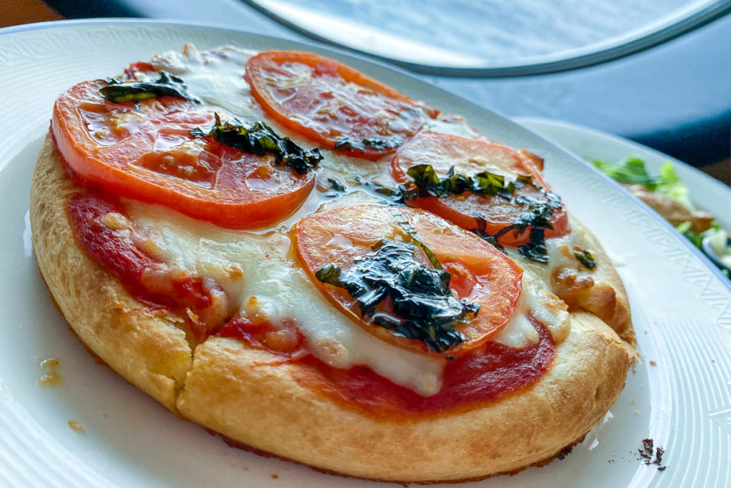 Disney Dream Room Service Pizza