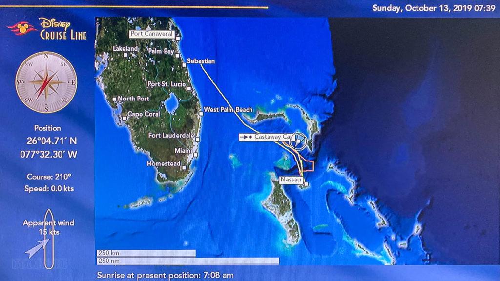 Disney Dream Stateroom Map Castaway Cay 20191013