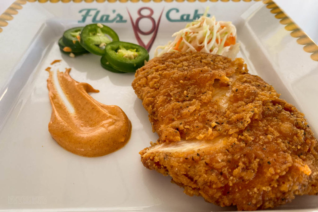 Flo's V8 Cafe Spicy Chicken Special