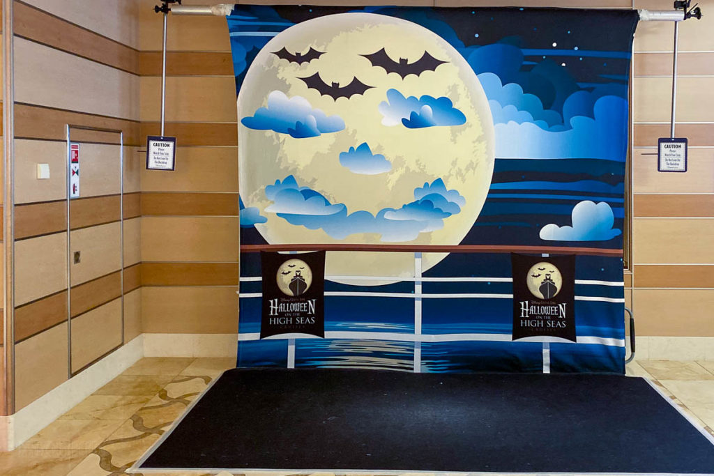 Halloween On The High Seas Photo Backdrop