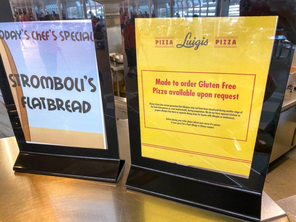 Luigis Pizza Special Gluten Free