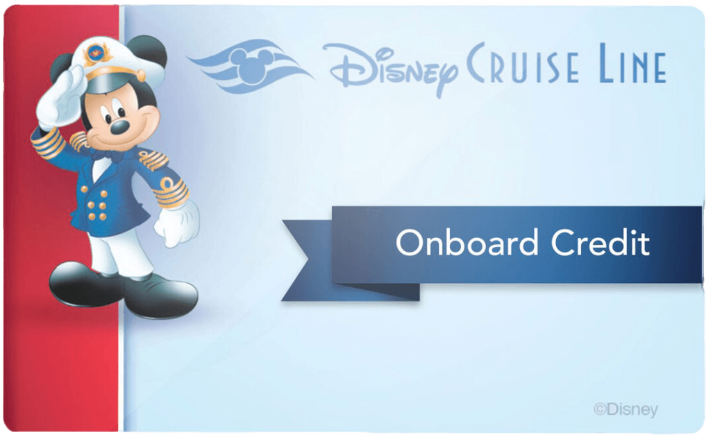 DCL Onboard Gifts Onboard Credit Card