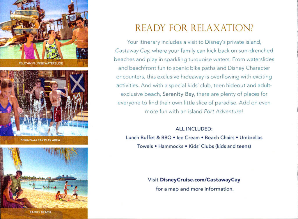DCL Pre Arrival Booklet Magic 15