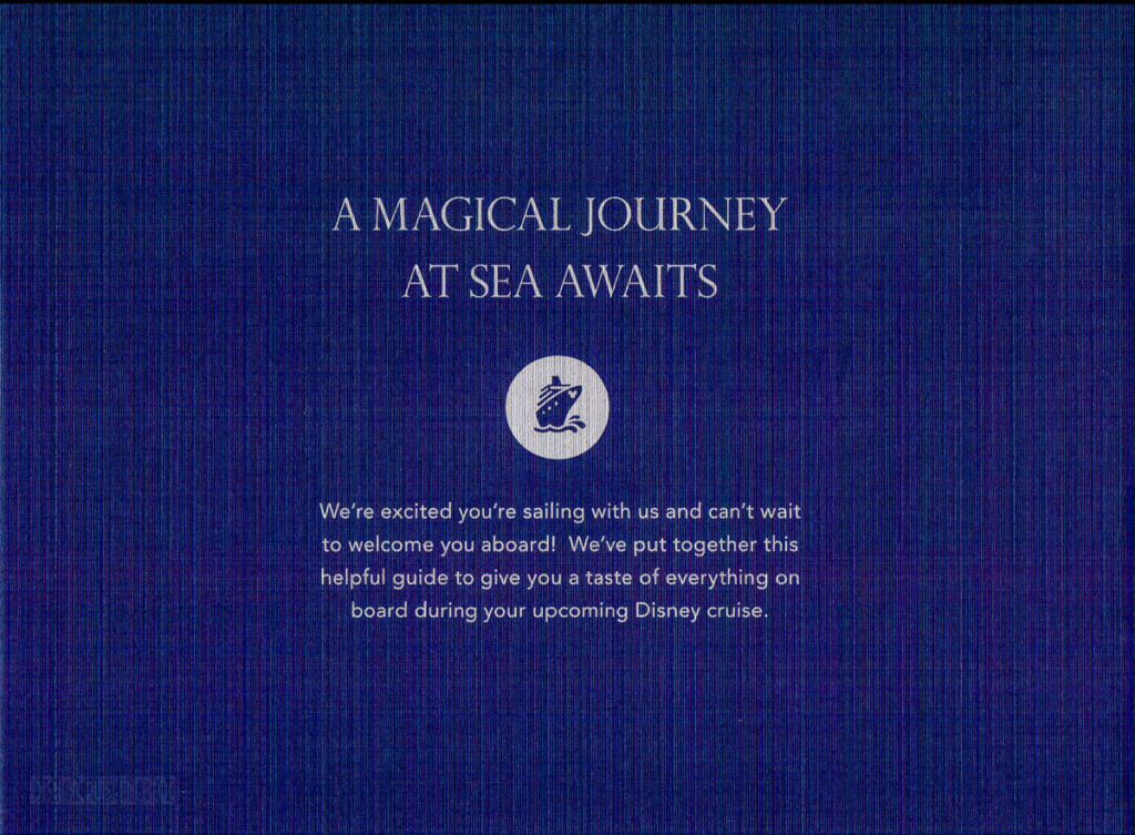 DCL Pre Arrival Booklet Magic 2