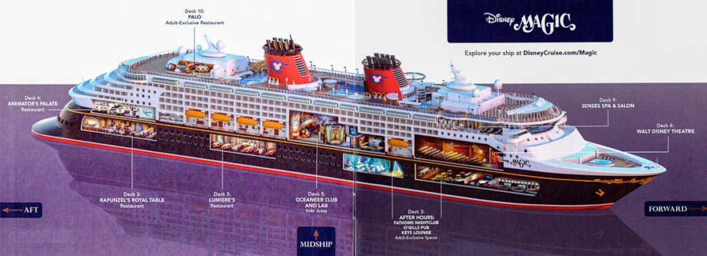 DCL Pre Arrival Booklet Magic Ship Overview