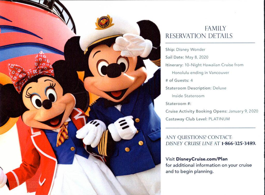 DCL Pre Arrival Booklet Wonder 1
