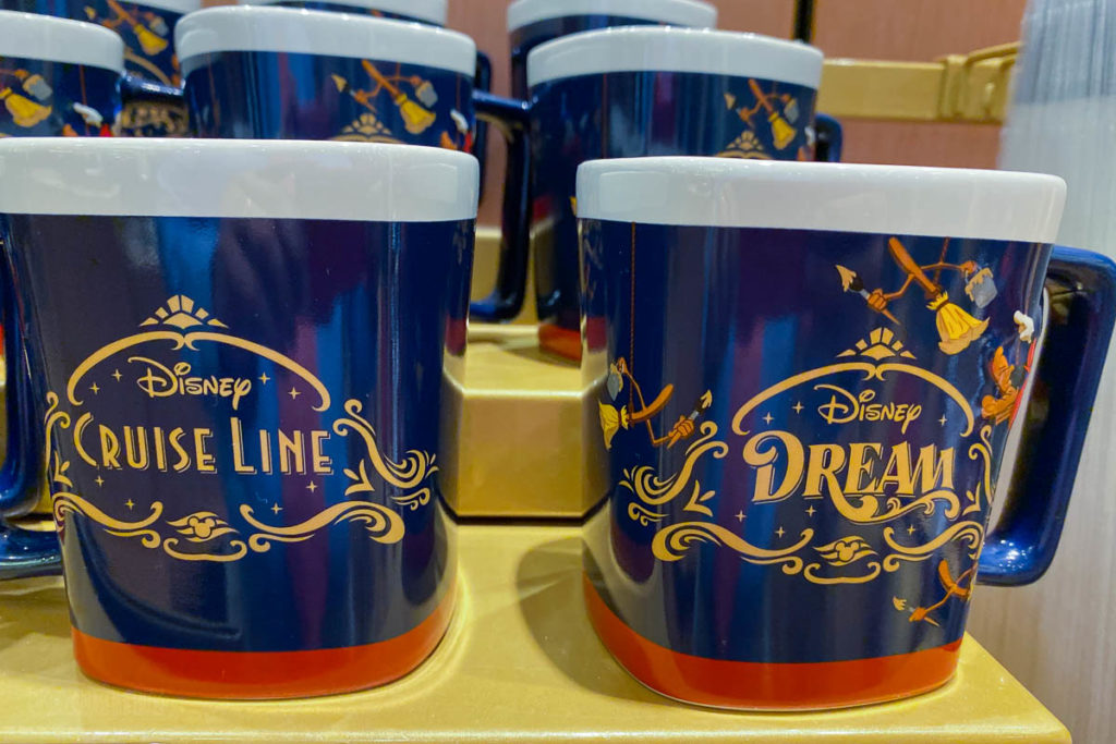 Disney Dream Merchandise Coffee Mug