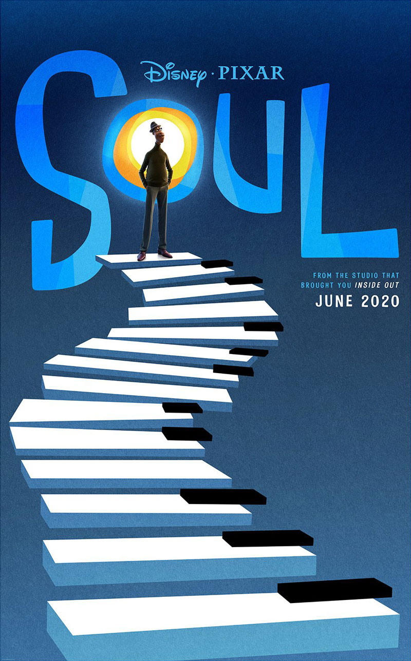 Pixar Soul Teaser Movie Poster
