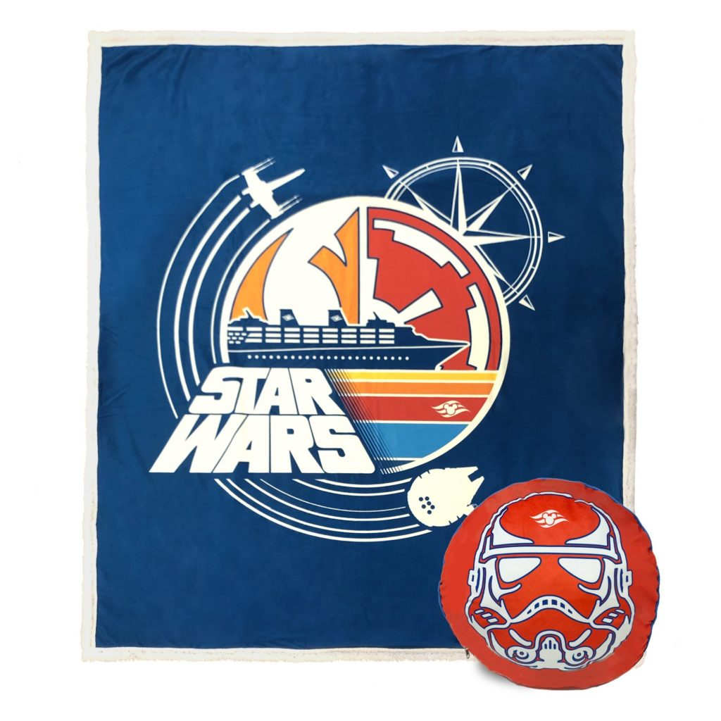 DCL Gifts Star Wars 2020 Blanket Pillow