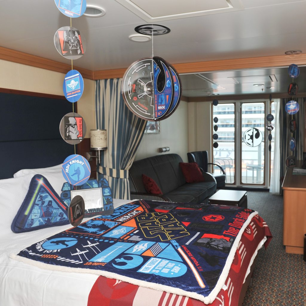 DCL Gifts Star Wars 2020 Stateroom Experience
