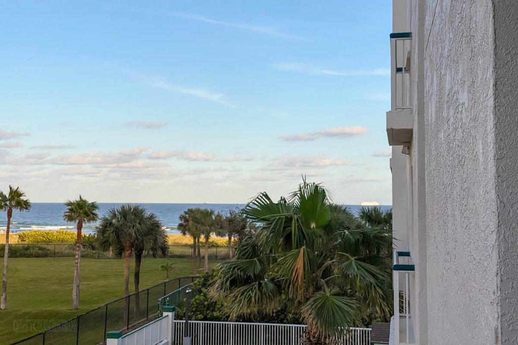 Resort On Cocoa Beach Balcony View