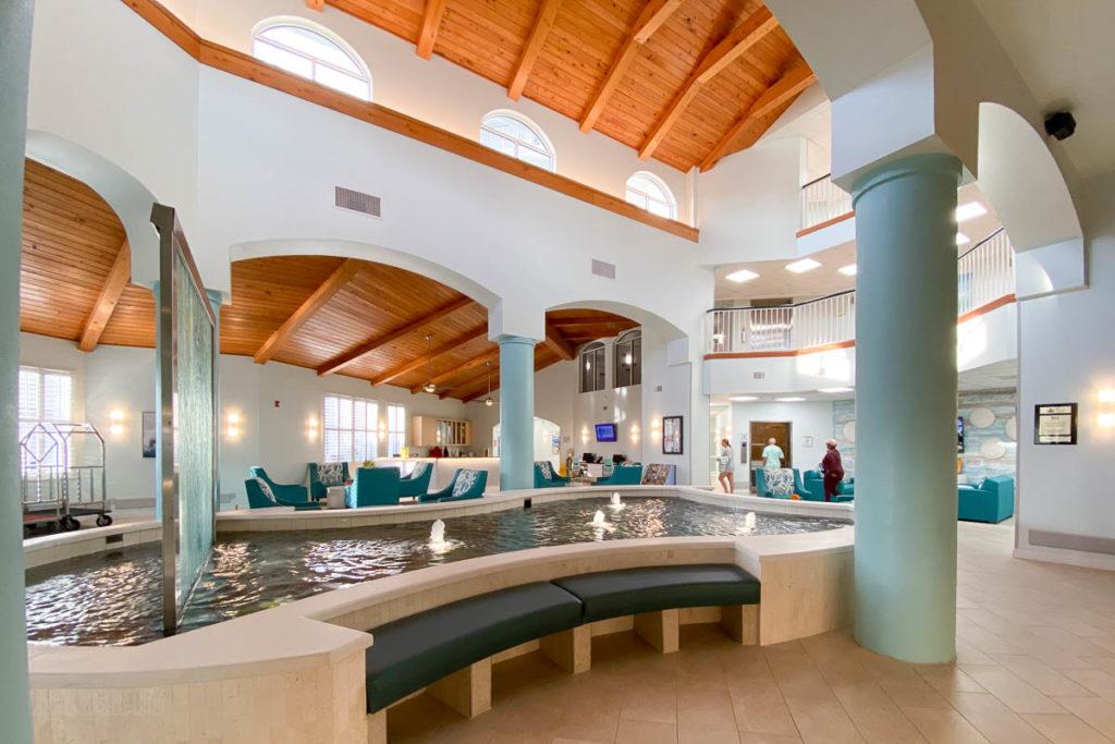Resort On Cocoa Beach Lobby