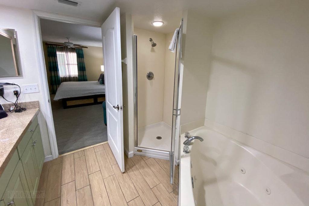 Resort On Cocoa Beach Master Bathroom