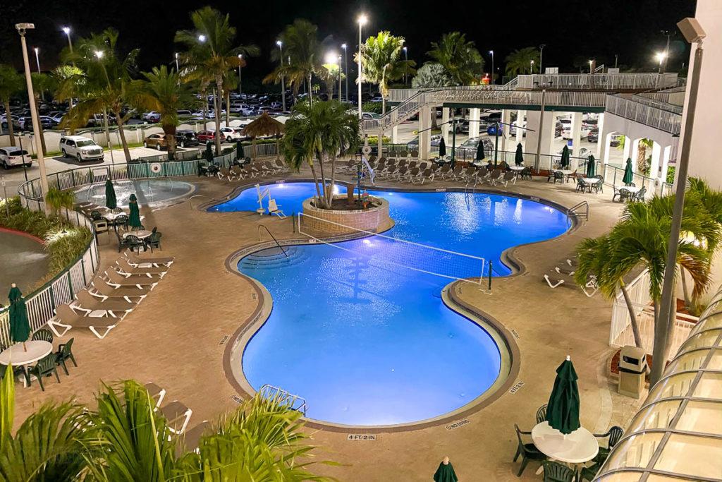Resort On Cocoa Beach Pool