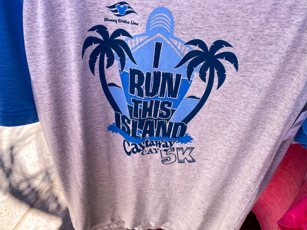 Castaway Cay Merchandise Buy Seashore 5k