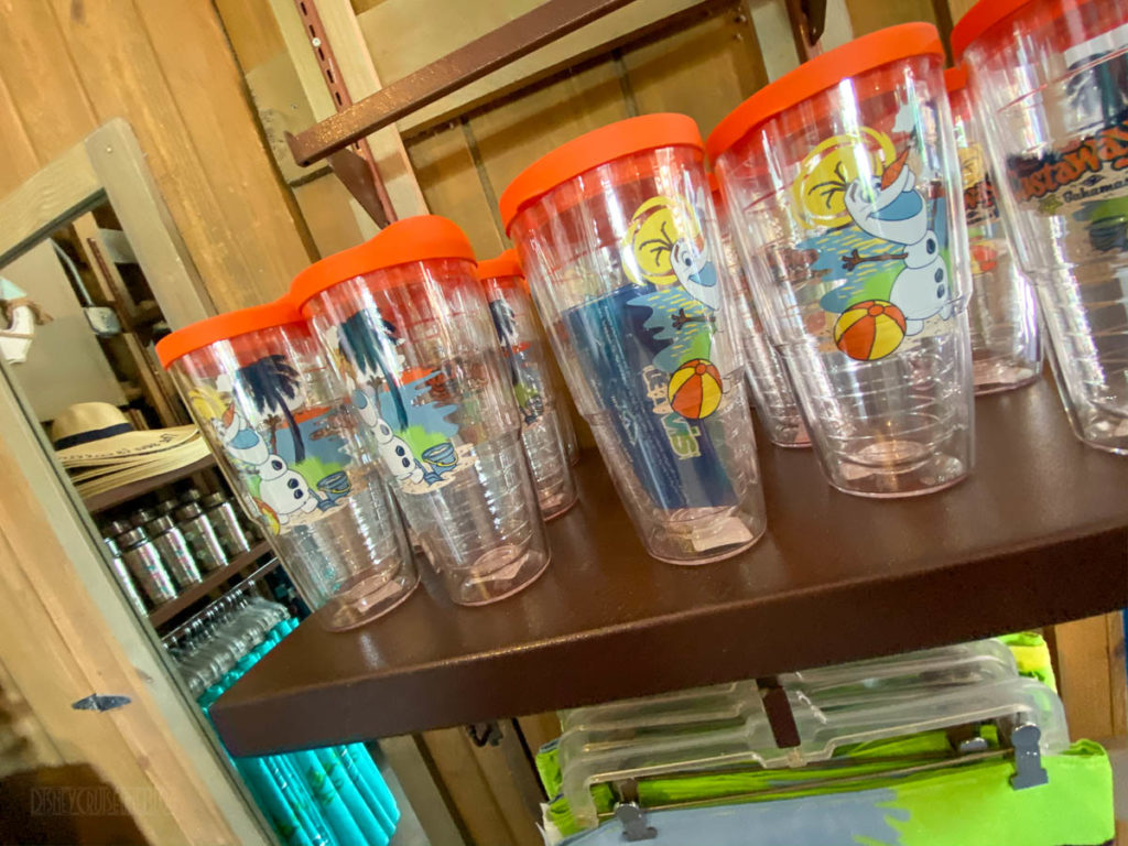 Castaway Cay Merchandise She Sells