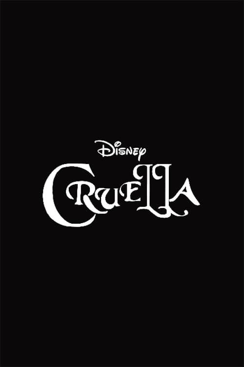 Cruella Title Movie Poster