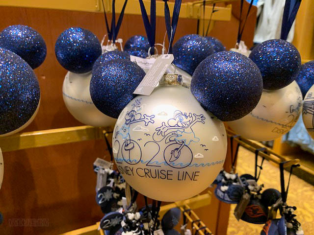 DCL 2020 Merchandise Holiday Ornaments