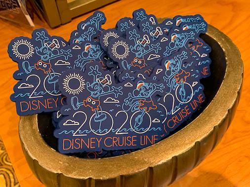 DCL 2020 Merchandise Magnet