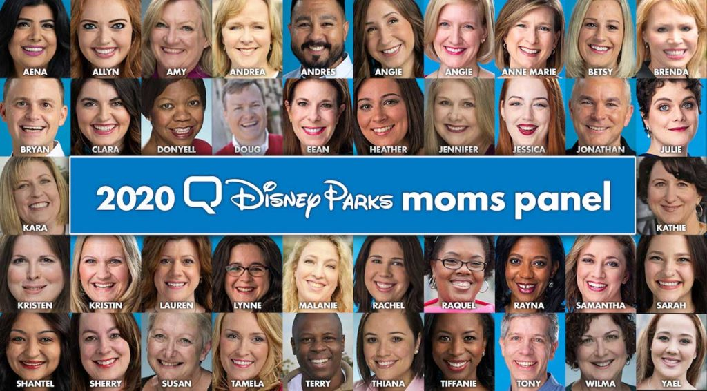 Disney Moms Panel Panelists 2020